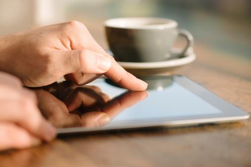 tablet browsing