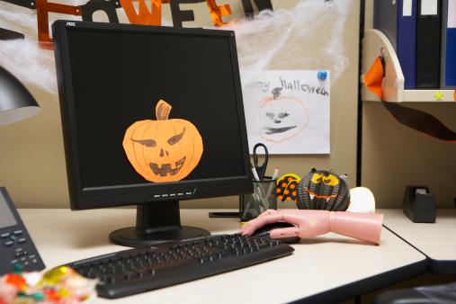 halloween computers