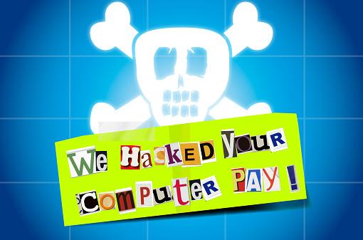 Ransomware Ransomnote Computer hack