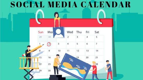 Microsoft Excel Social Media Calendar